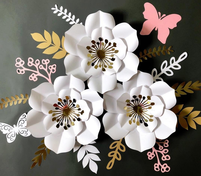 Aura Paper Flower
